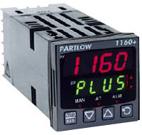 Partlow, 1160+, 1/16 DIN, Temperature, Controller